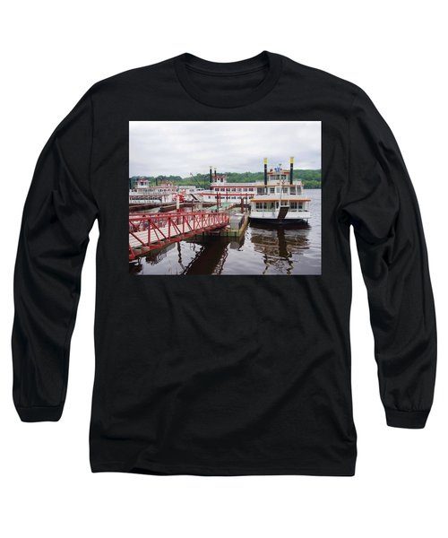 A Calliope Of Riverboats Long Sleeve T-Shirt