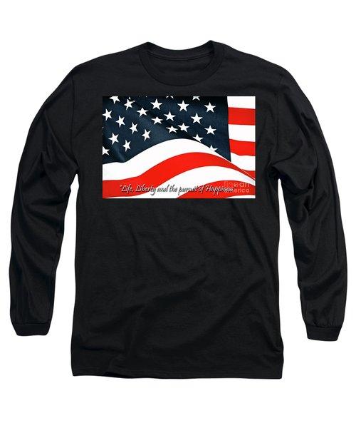 A Declaration Long Sleeve T-Shirt