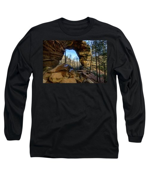 A Hole In Time Long Sleeve T-Shirt