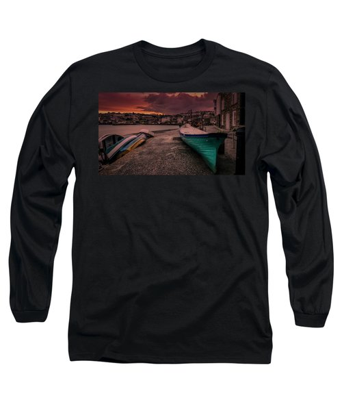 A Quiet Moment - Cornwall Long Sleeve T-Shirt
