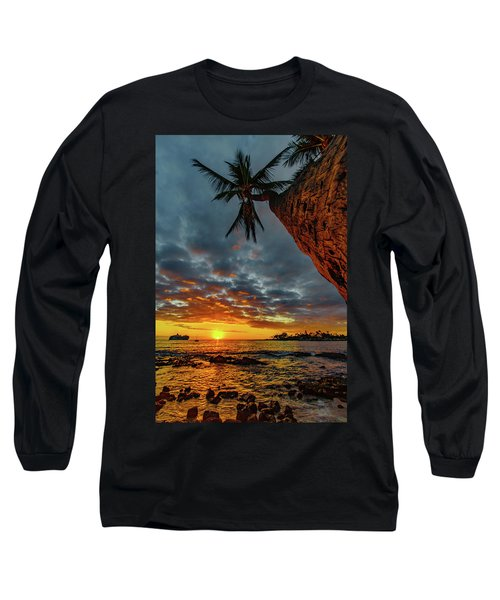 A Typical Wednesday Sunset Long Sleeve T-Shirt