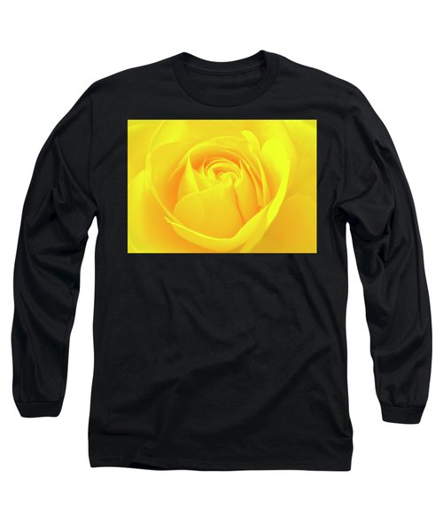A Yellow Rose For Joy And Happiness Long Sleeve T-Shirt