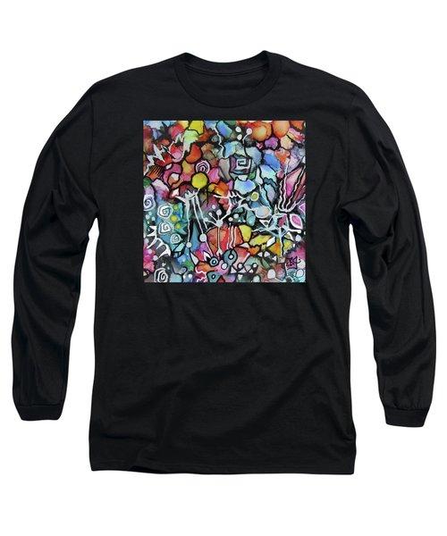 A Zentangle Dance Long Sleeve T-Shirt