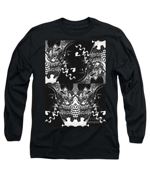 About The I In The Sky - Night Vision Long Sleeve T-Shirt