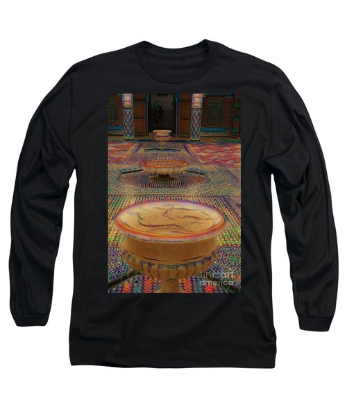 Abstract Architecture Morocco  Long Sleeve T-Shirt