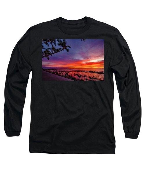 After Sunset Vibrance Long Sleeve T-Shirt