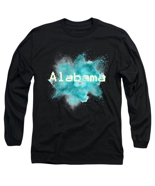 Alabama Powder Explosion Long Sleeve T-Shirt