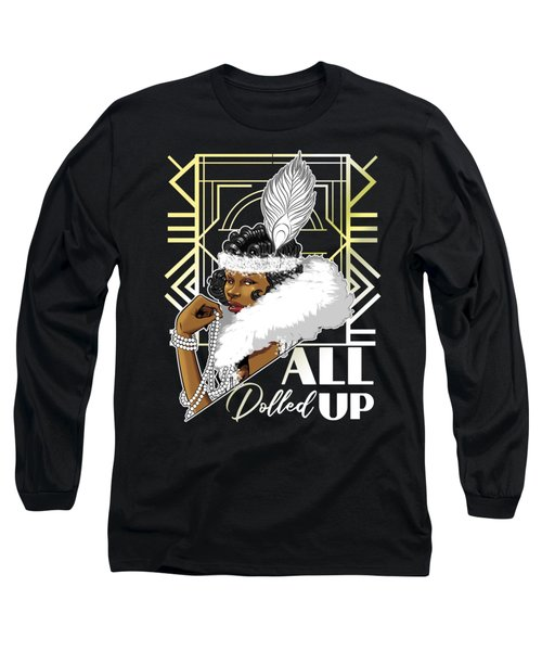All Dolled Up Long Sleeve T-Shirt
