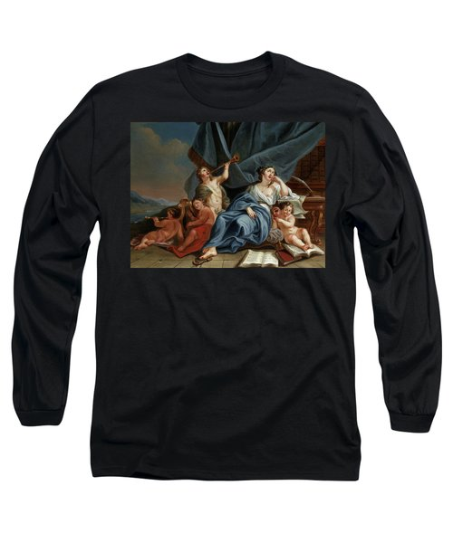 Allegory Of Music And Theater Long Sleeve T-Shirt