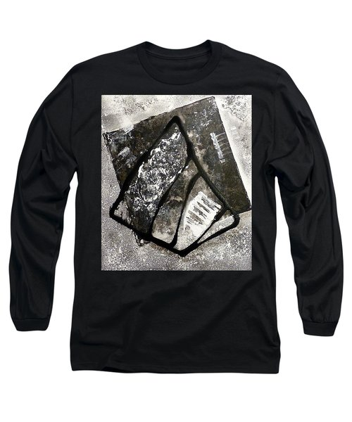 Long Sleeve T-Shirt featuring the painting Amarok by 'REA' Gallery