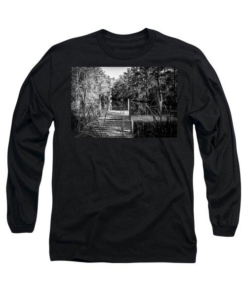 An Old Dock Long Sleeve T-Shirt