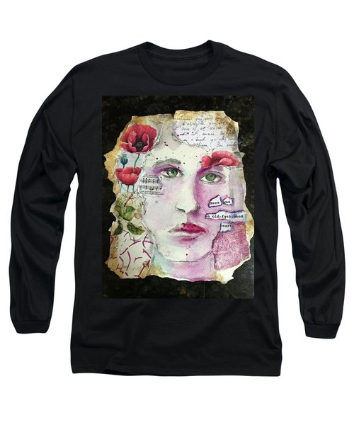 An Old-fashioned Heart Long Sleeve T-Shirt