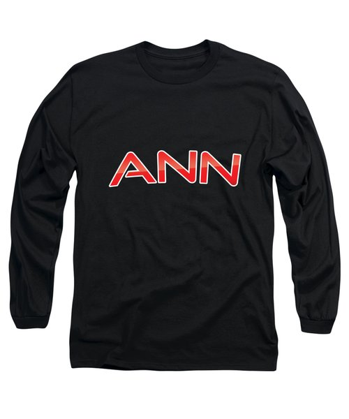 Ann Long Sleeve T-Shirt