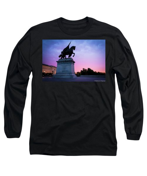Apotheosis Of St. Louis, King Of France Long Sleeve T-Shirt