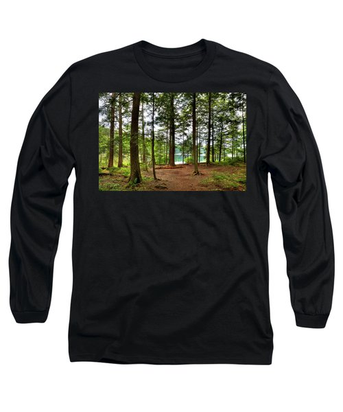 Long Sleeve T-Shirt featuring the photograph Approaching Sis Lake by David Patterson