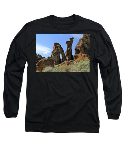 Arches Hoodoos Castles Long Sleeve T-Shirt