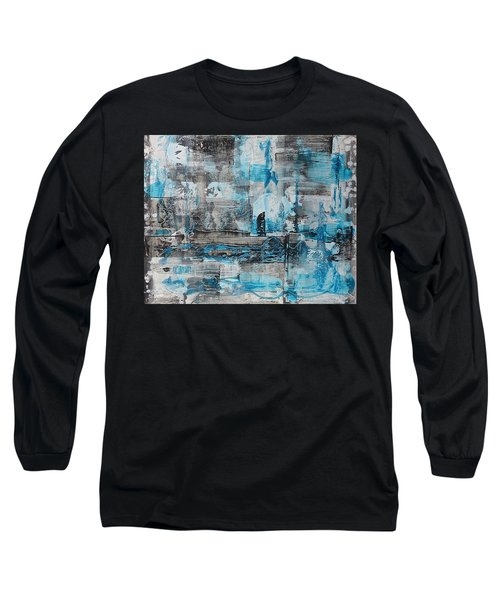 Long Sleeve T-Shirt featuring the painting Arctic by 'REA' Gallery
