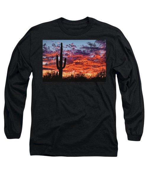 Arizona Sunset Long Sleeve T-Shirt