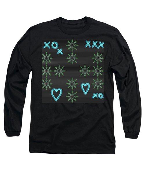 Art Deco Design 6 Long Sleeve T-Shirt