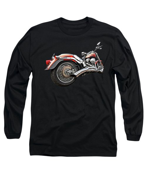 Lightning Fast - Screamin' Eagle Harley Long Sleeve T-Shirt