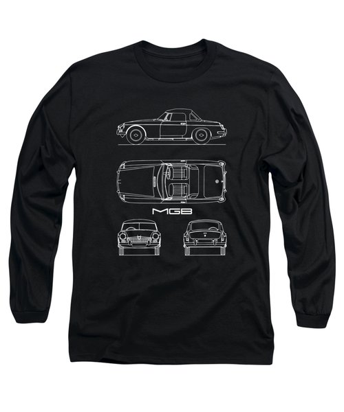 Mgb Blueprint Long Sleeve T-Shirt