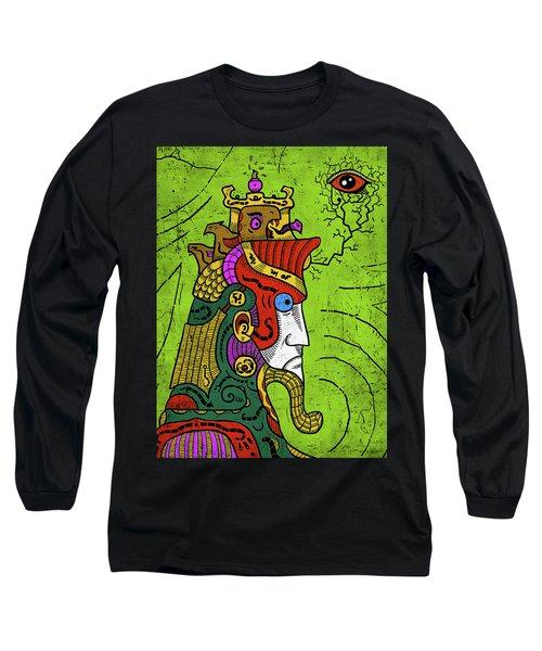 Long Sleeve T-Shirt featuring the digital art Ancient Egypt Pharaoh by Sotuland Art