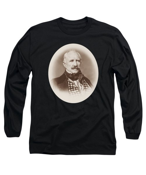 Sam Houston Portrait - 1859  Long Sleeve T-Shirt