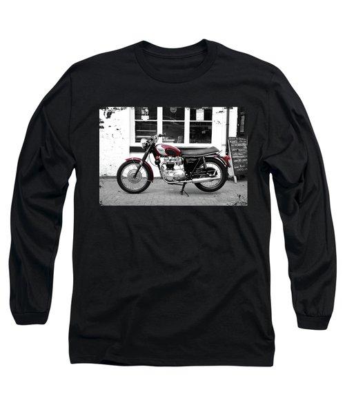The 1970 Bonneville T120rt Long Sleeve T-Shirt