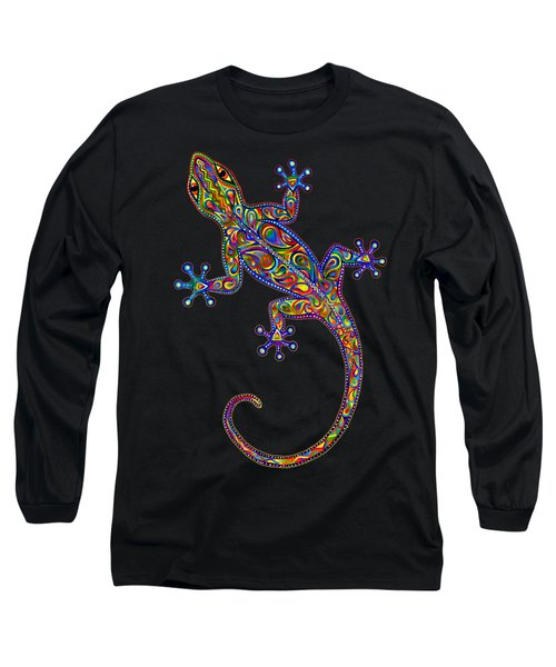 Electric Gecko Long Sleeve T-Shirt