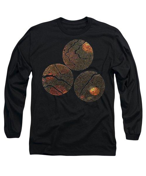 Atoms Ink Artwork Long Sleeve T-Shirt