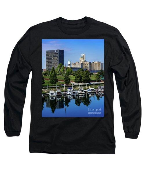 Augusta Ga Savannah River 3 Long Sleeve T-Shirt