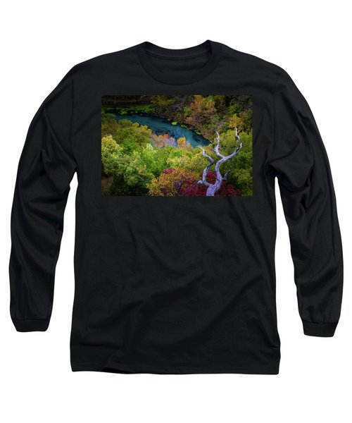 Autumn At Ha Ha Tonka State Park Long Sleeve T-Shirt