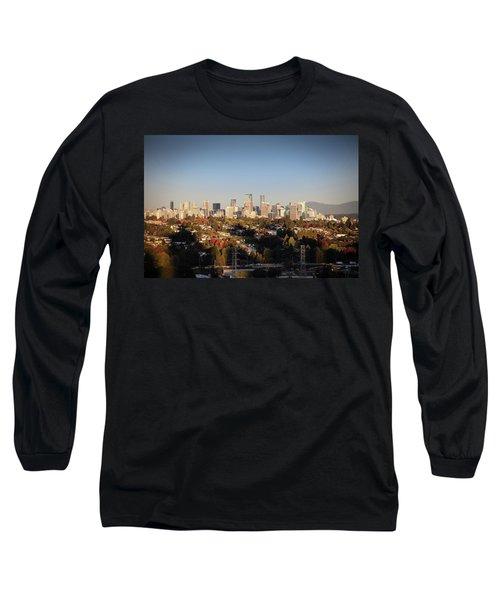 Autumn At The City Long Sleeve T-Shirt