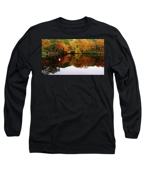 Autumn's Peacefulness Long Sleeve T-Shirt