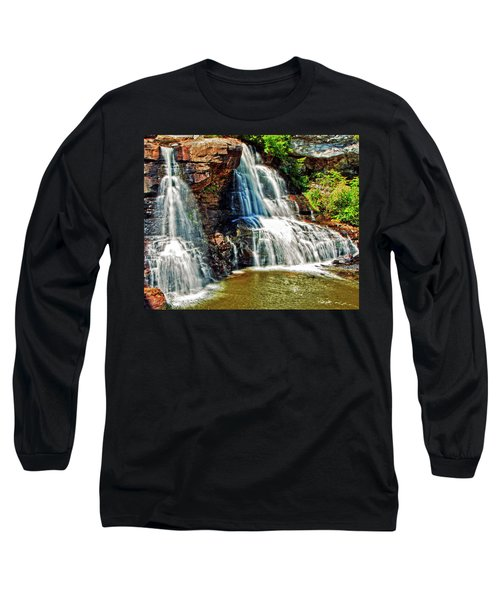 Balckwater Falls - Closeup Long Sleeve T-Shirt