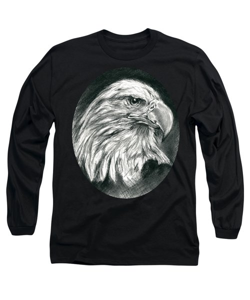 Bald Eagle Intensity Long Sleeve T-Shirt