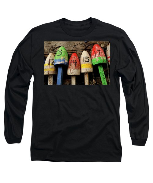 Bar Harbor Bouys Long Sleeve T-Shirt