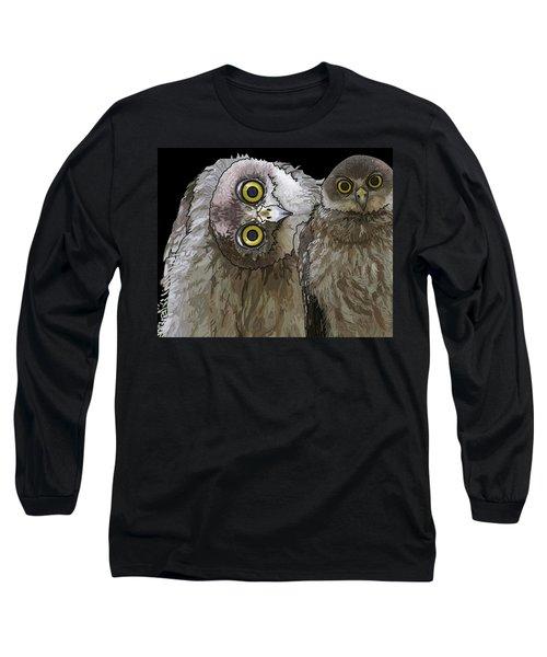 Barking Owls 2 Long Sleeve T-Shirt