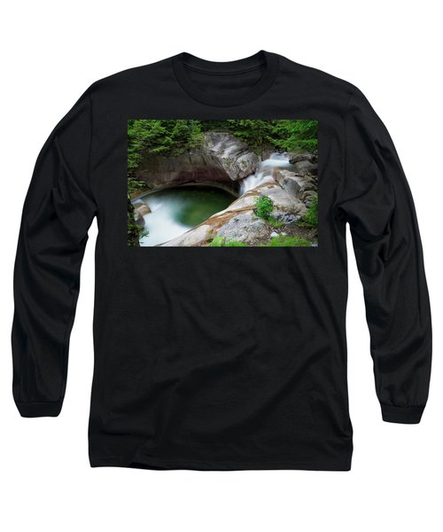 Basin From Above, Nh Long Sleeve T-Shirt