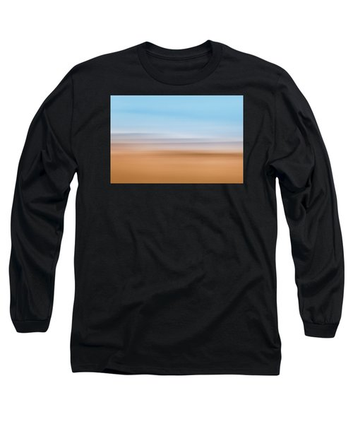 Beach Abstract Long Sleeve T-Shirt