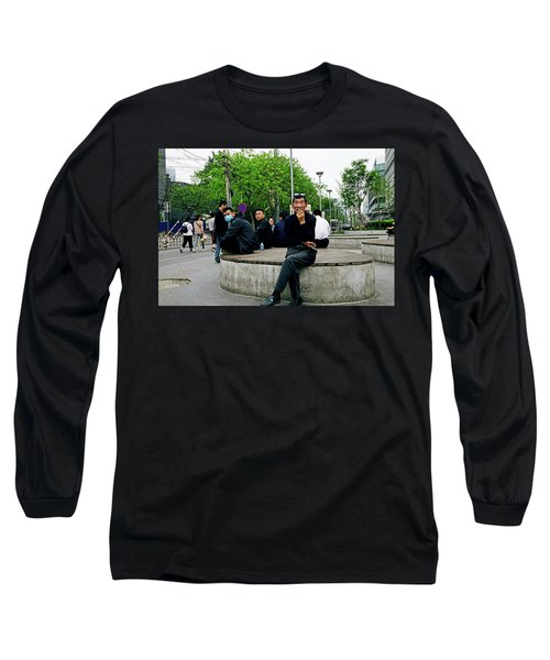 Beijing Street Long Sleeve T-Shirt