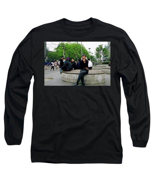 Beijing Street Long Sleeve T-Shirt