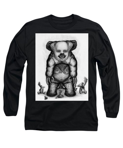Benjamin The Nightmare Bear Artwork Long Sleeve T-Shirt