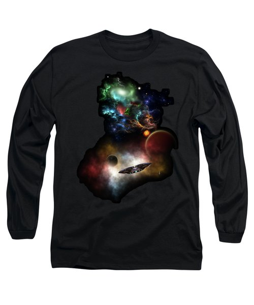 Beyond Space And Time Long Sleeve T-Shirt