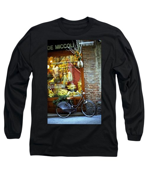 Bike In Sienna Long Sleeve T-Shirt