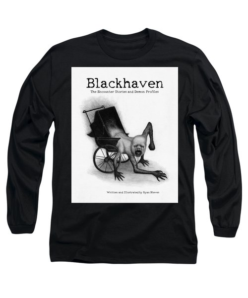 Blackhaven The Encounter Stories And Demon Profiles Bookcover, Shirts, And Other Products Long Sleeve T-Shirt