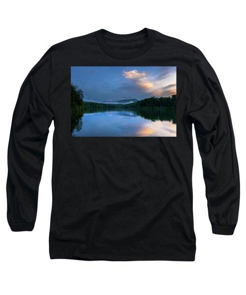 Blue Ridge Parkway - Price Lake - North Carolina Long Sleeve T-Shirt