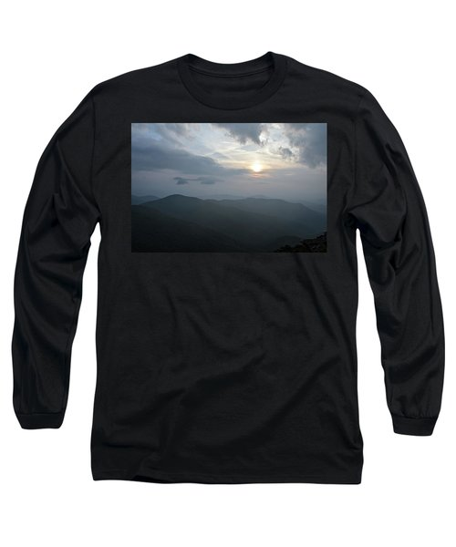 Blue Ridge Parkway Sunset Long Sleeve T-Shirt