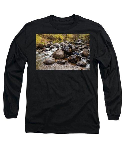 Boulders In Creek Long Sleeve T-Shirt