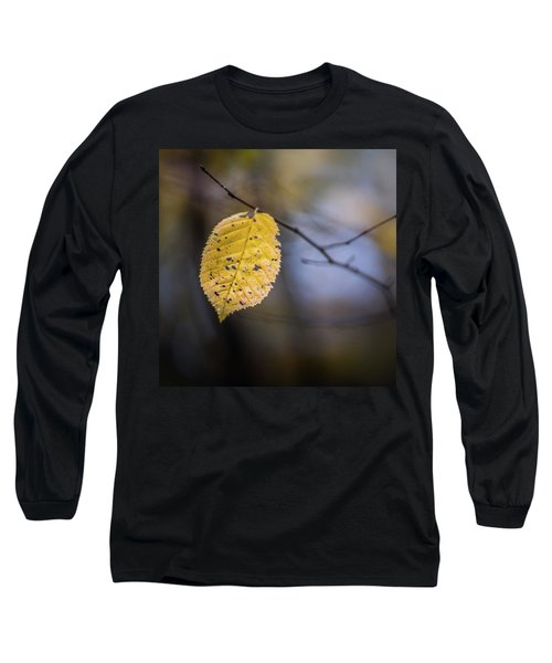 Long Sleeve T-Shirt featuring the photograph Bright Fall Leaf 5 by Michael Arend